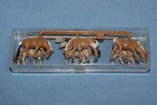 MERTEN 2409 set of 6 Horses HO