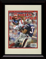 Framed David Tyree Sports Illustrated Autograph Replica Print -  New York Giants