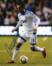 Octavio Rivero Vancouver Whitecaps FC Soccer Football signed 8x10 photo w/COA