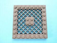 Lego 1 x placa rejilla 4151 ALT gris oscuro 8x8 7317 10019 7163 7047