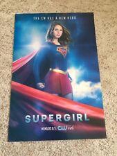 DC's SUPERGIRL CW Tv Show 12x18 Original Promotional Poster Melissa Benoist