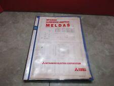 MITSUBISHI NUMERICAL CONTROL LIST MELDAS MAZATROL-M1 VQC 50/40 MAZAK VQC40B