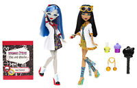 Mattel Monster High Ghoulia Yepls & Cleo de Nile LABORPARTNER BBC81 Gastlando