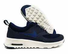 Nike 819639-401 Women's Air Max Thea TXT Obsidian/Blue/White SZ 8.5 Running Shoe