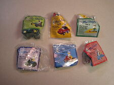 McDonalds 1988 Mac Tonight Travel Toys - * Regional * - Complete Set - MIP