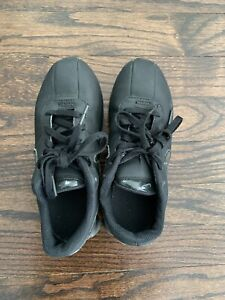 Nike Shox Deliver Kids 1Y Mono All Black Youth Size 1 Sneakers Shoes Gym Shoes