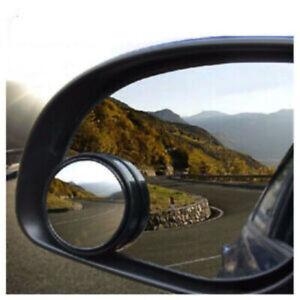 2 Blindspot Mirrors Universal Parking Aid Waterproof Convex Rearview Car Mirror