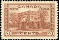 1938 Mint Canada VF Scott #243 20c Pictorial Issue Stamp Never Hinged