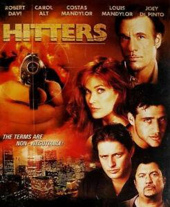 HITTERS DVD Gangster Crime Movie 2002 Robert Davi - AUSTRALIAN REGION 4 PAL