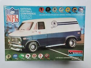 National Football Conference NFL Chevy Van Monogram #2234 1983 1:24