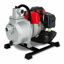 """EBERTH 1"""" Pompe à eau a essence jardin thermique Motorpompe 2 temps 12500L/h"""