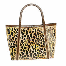 Sophi Hogar Boudoir Leopardo Bolso Moda Bolso de pared Arte Metal Chic MWA621