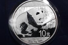 2016 30 gram Silver Chinese China Panda Bullion Coin