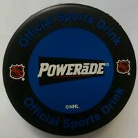 POWERADE OFFICIAL SPORTS DRINK OF THE NHL VINTAGE VEGUM SLOVAKIA HOCKEY PUCK