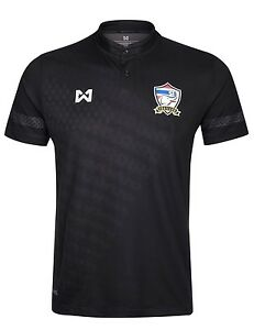100% Authentic Thailand National Football Soccer Team Jersey Shirt Black Player