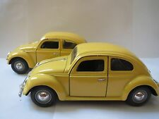 Sunnyside Love Bug Diecast 1:24 WOB VW55 SS770 YELLOW - WITH FRONT BUMPER