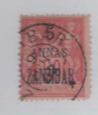 ZANZIBAR (Bureau Français) - n° 28 oblitéré - C:40,00 €