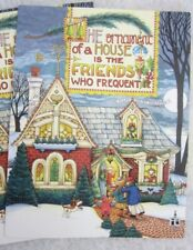 Mary Engelbreit Christmas Holiday Party Invitations 5 cards w envelopes blank
