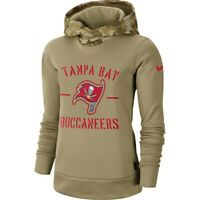 Great Womens Medium Tampa Bay Buccaneers New Nike Salute to Service Hoodie