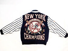 MLB 1996 NEW YORK WORLD SERIES CHAMPIONS JH DESIGN JACKET (LARGE)