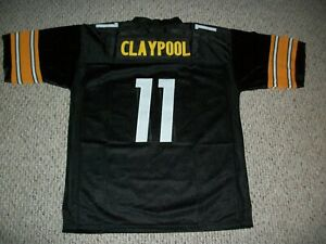 CHASE CLAYPOOL Unsigned Custom Black Sewn New Football Jersey Sizes S-3XL