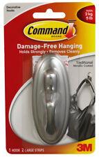 3M Command Large Traditional Hook Damage Free Hanging Holds 5lb 2.2kg