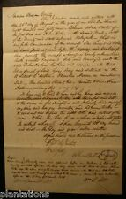 1849 Land Sell Morgan County Deed Document State Of Georgia