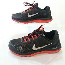 Nike Men's Dual Fusion Run 3 Running Shoe Size 7y, Black Red walking workout