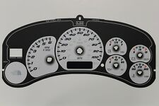 99.5-02 THE NORTH FACE INSTRUMENT CLUSTER WHITE GAUGE FACE BACKGROUND PART ONLY