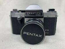 Vintage Praktica Novel PL 35mm Film Camera Super Takumar 1:1.8 / 55 Lens #123
