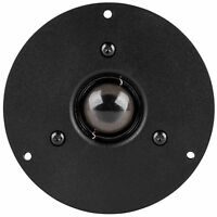 """NEW 4"""" Tweeter.Home Audio Shielded replacement Speaker.High.8 ohm.1"""" silk dome"""