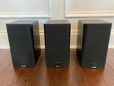 SVS Prime Satellite Speakers Premium Black Ash Finish - 3 Included