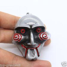 New Saw movie Movie theme Saw Mask Metal Keyring Keychain Silver Color