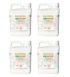 Désherbant Herbicide Glyphosat RADIKAL 4X5L concentré LIVRAISON GRATUITE EN 24H
