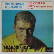 François Deguelt 45 Tours Eurovision 1960 Monaco