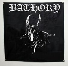 "Bathory Goat Head Music Heavy Metal Band Poster Flag Banner 48""x 48"" 10068789"