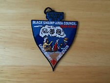 Boy Scout Patch Buckskin Dreams Black Swamp Area Council Mom-N-Me Camp Berry