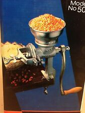 Universal 500 Multi Grain Corn Nut Coffee Cereal Mill Grinder Hand Crank **NIB**