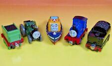 Sir Handle Trevor Captain Tender  - Thomas Metal Diecast Take Along Train Lot