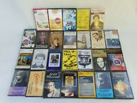 JOB LOT VINTAGE 70`80`90` CASSETTES TAPES MIX GENRES  | CLASSICS | ROCK | POP |