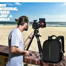Camera Bag Backpack Waterproof DSLR Soft Case with Carabiner For Canon For Nikon