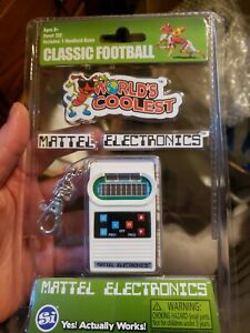 Mattel Classic Football Electronics Game Smallest Handheld Game Worlds Coolest