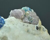 985 CT Spinel crystals combine with Sodalite on matrix Badakhshan Afghanistan