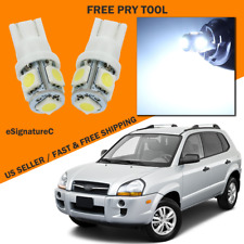 11 x White LED Interior Light Package For 2004 - 2009 Hyundai Tucson + TOOL