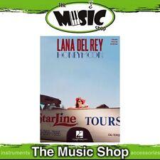 New Lana Del Ray 'Honeymoon' PVG Music Book - Piano Vocal Guitar