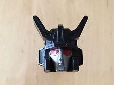 Transformers G1 Parts 1985 MENASOR head red eyes  motormaster
