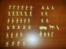 Airfix HO/OO 1/72 Scale Vintage Waterloo French InfantryCompleteSet Unpainted