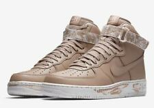 Nike Air Force 1 Hi AF1 Leather SAND CAMO TAN BEIGE MILITARY AT3293-200 sz 12.5