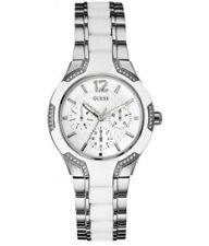 GUESS White Watch Women's Sporty Cool W0556L1 NEW