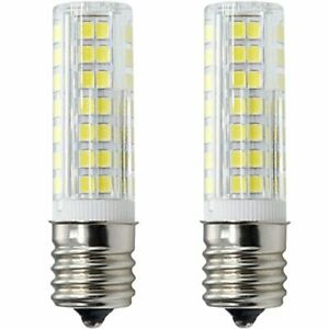 XRZT E17 LED Bulb for Microwave Oven Over Stove Appliance 6W 60W Halogen Bulbs